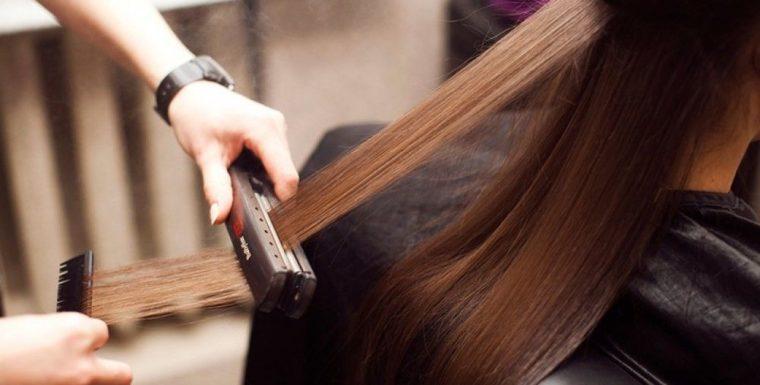 Холодное восстановление волос.